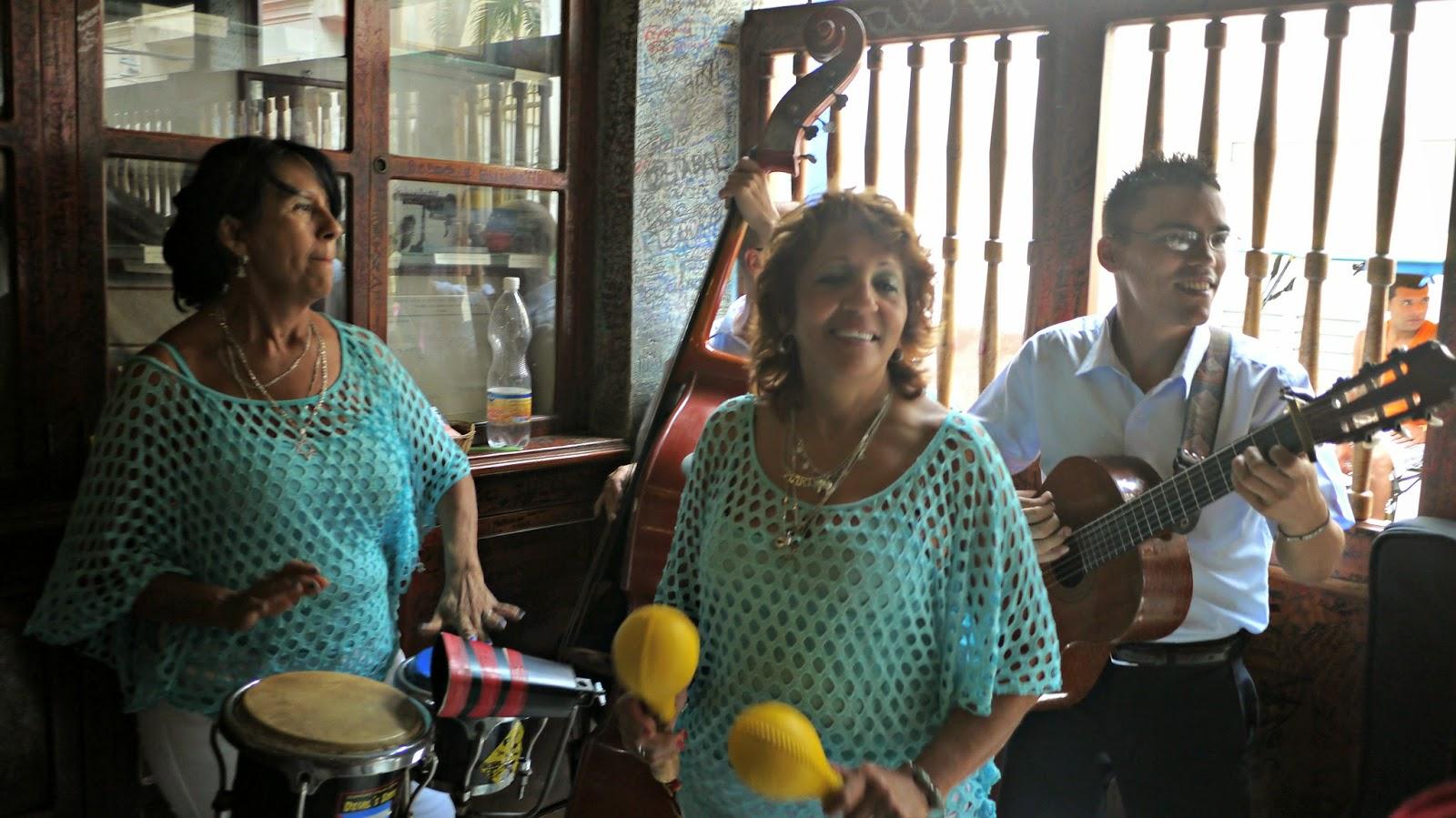 Band in La Bodeguita Havana Cuba