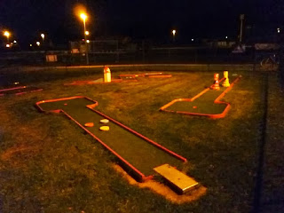 The Crazy Golf course in Burton upon Trent