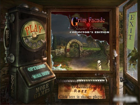 Grim facade: sinister obsession collector's editio pc game.