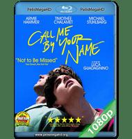 LLÁMAME POR TU NOMBRE (2017) 1080P HD MKV ESPAÑOL LATINO