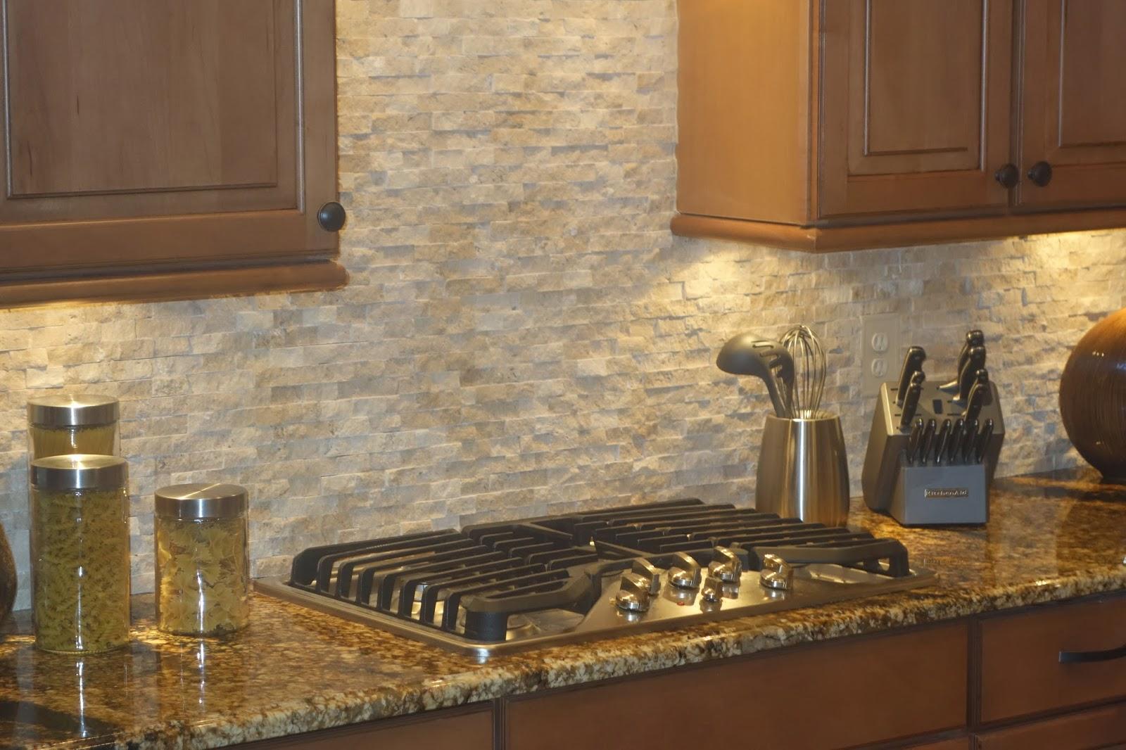 Stone Backsplash Kitchen Magazine Natural Bestsciaticatreatments