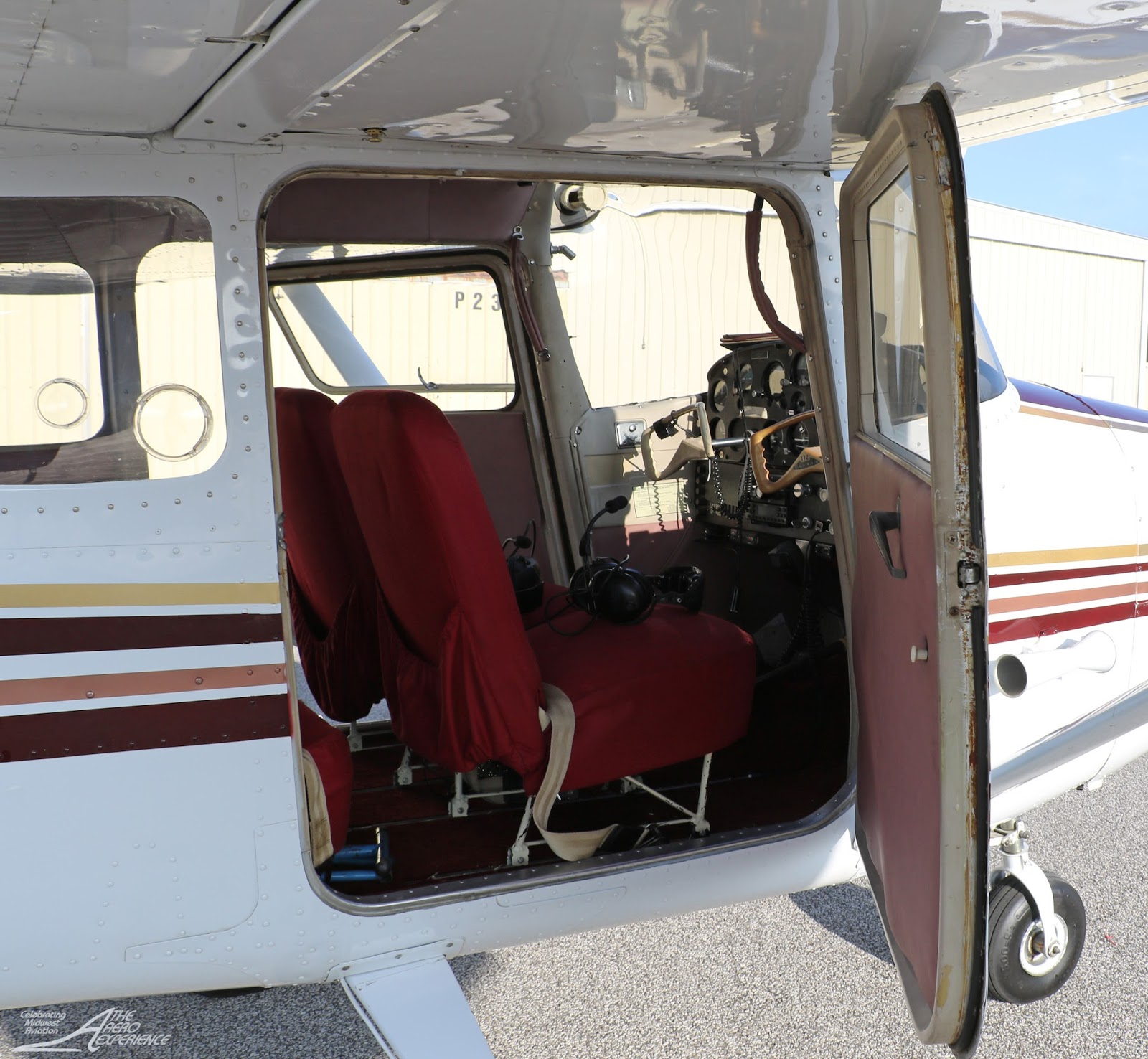 The Aero Experience: Midwest Plane Jane: Classic 1960 Cessna