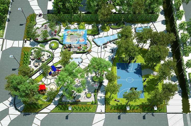 Khuôn viên sân vườn