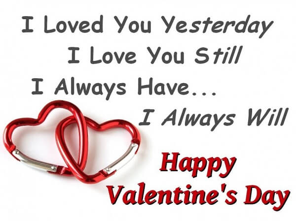 Valentine's Day 2017 Quotes for Wife