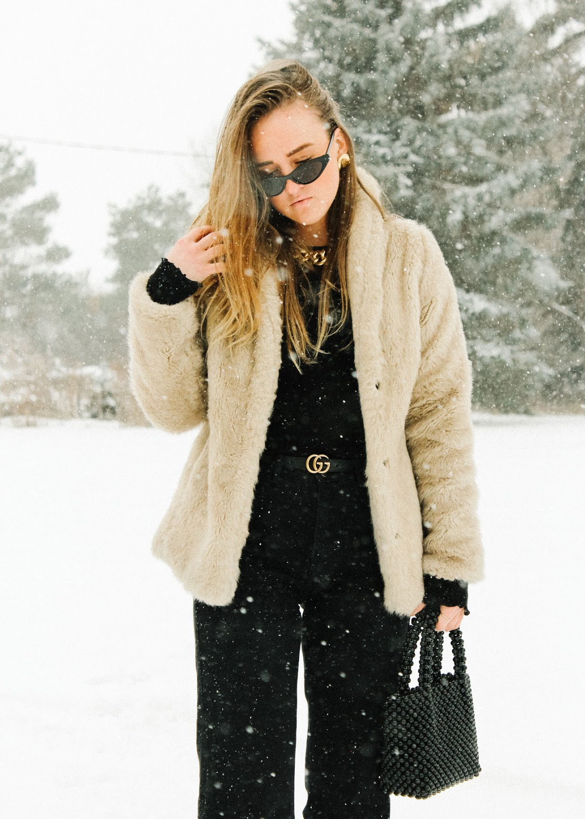 Meant to be - It will be okay - winter style outfit - H&M, Gucci, Zara, Oak and Fort