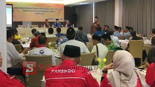 Undang Petinggi Parpol, KPU Bojonegoro Gelar Sosialisasi Aturan Perundangan Verifikasi Parpol