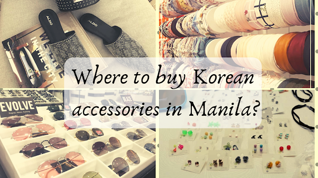 Shops that sell Kpop inspired accessories in Manila