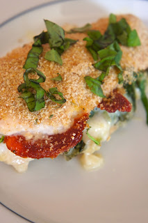 Mozzarella Stuffed Chicken: Savory Sweet and Satsifying