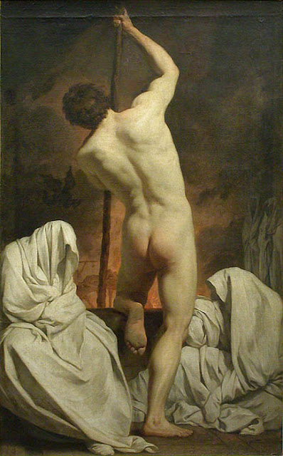 Charon Ferrying the Shades by Pierre Subleyras (circa 1735-1744)