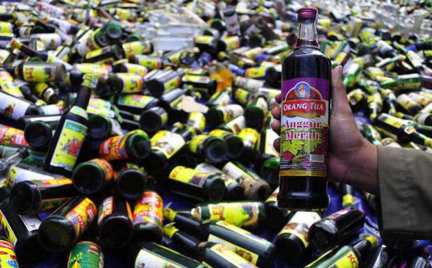 17 Minuman Keras Yang Berbahaya