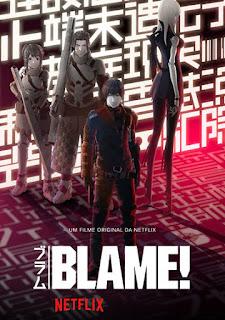 Blame! - HDRip Dual Áudio