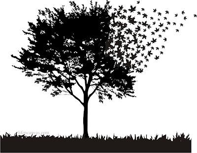 fading tree