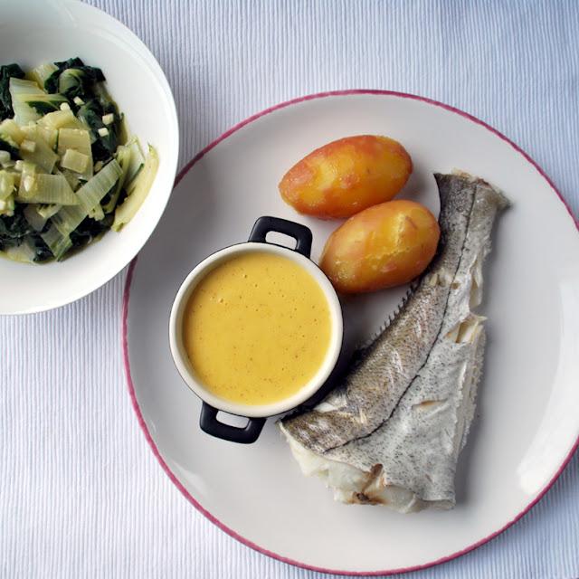 Schellfisch mit Kartoffeln, Mangold und Buttersauce | pastasciutta