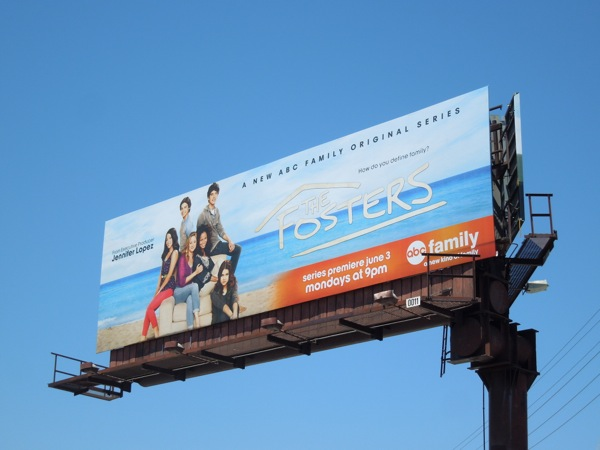Fosters ABC Family billboard