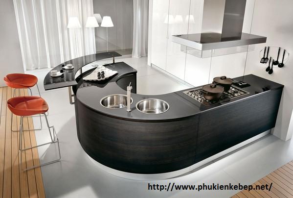 Thiết kế tủ bếp tiết kiệm diện tích