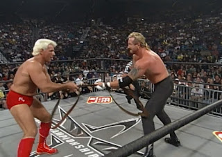 WCW Halloween Havoc 1998 - Ric Flair faced DDP in a strap match