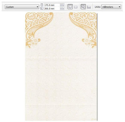 Download Blanko Undangan President Card PC - 09 untuk Acara Khitanan (Sunatan)