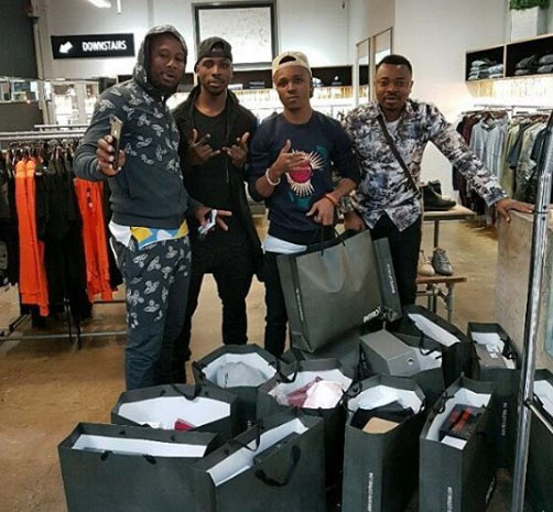 Humblesmith & manager go shopping with Kelechi Iheanacho in Manchester