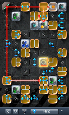 Solution for Laser Box - Puzzle (Extra) Level 6