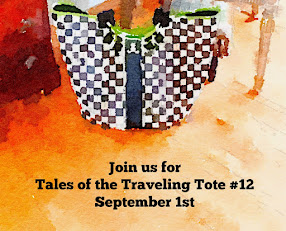 The Traveling Tote #12 -Sept 1st