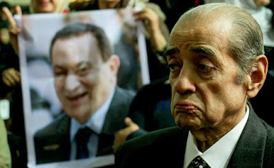 When Mubarak was officially convicted
