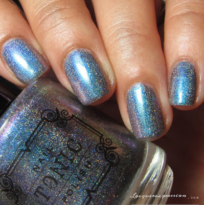 nail polish swatch of Dragon Tears from the Tonic Polish Holiday 2016 Collection