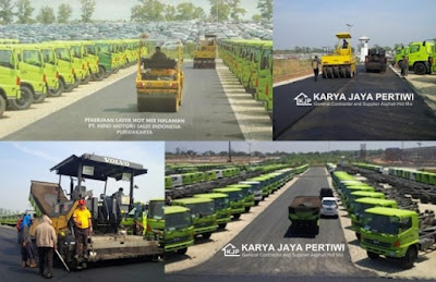 Kontraktor Pengaspalan Hotmix tangerang, Jakarta, Bogor, depok, bekasi, bandung, Jawa Barat