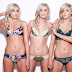 Laura, Nicola and Alison Crimmins identical triplets eat same food, same weight and live the same lives (photos)