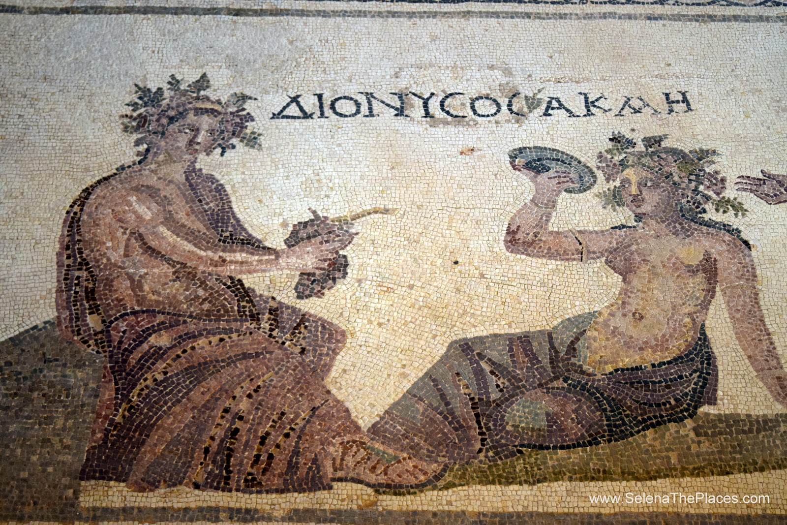 The Ancient Greek Mosaics of Paphos