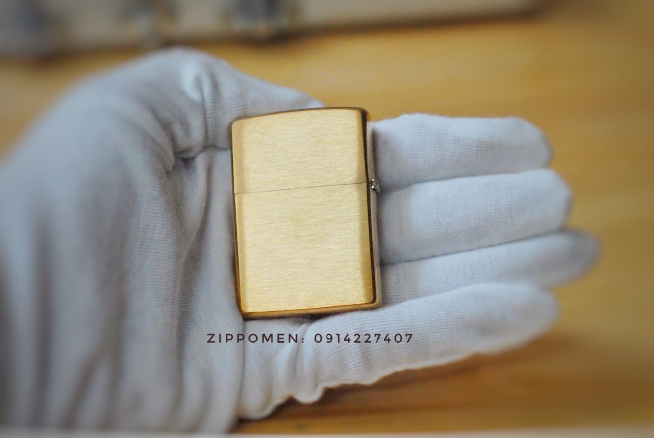 Zippo Đồng Nguyên Khối Khắc Rồng | Zippo Cổ | Zippo Đẹp