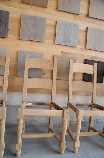 renovatie eiken stoelen