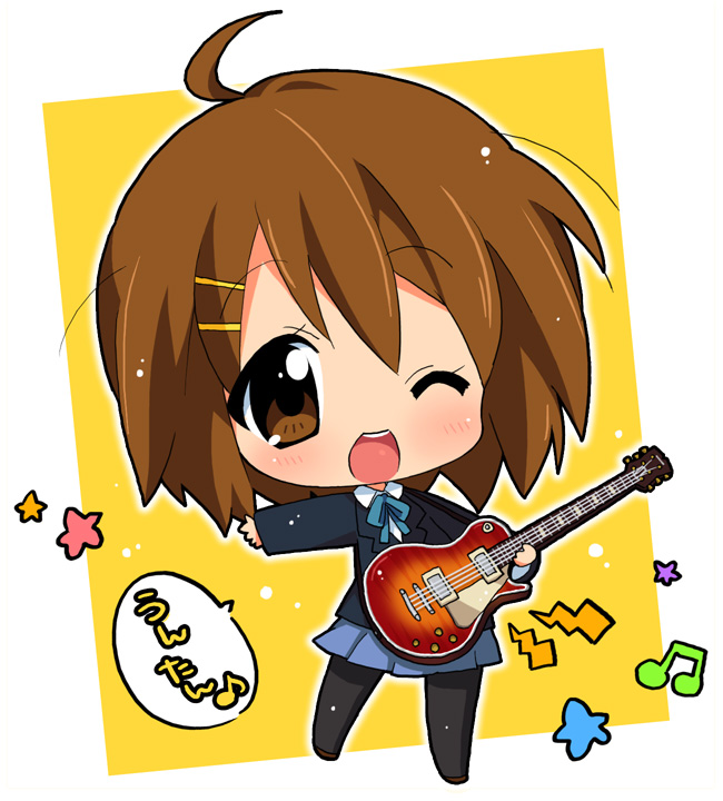 Chibi k-on   All About Anime
