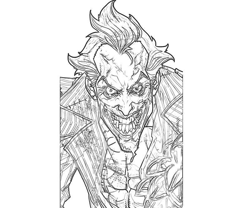 Batman Arkham City Joker Character