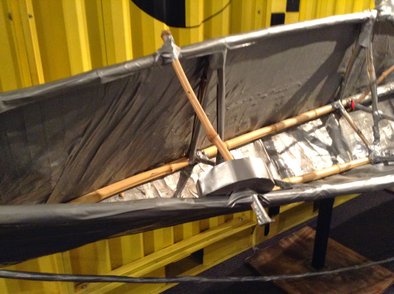 The duct tape boat at Mythbusters #beamythbuster