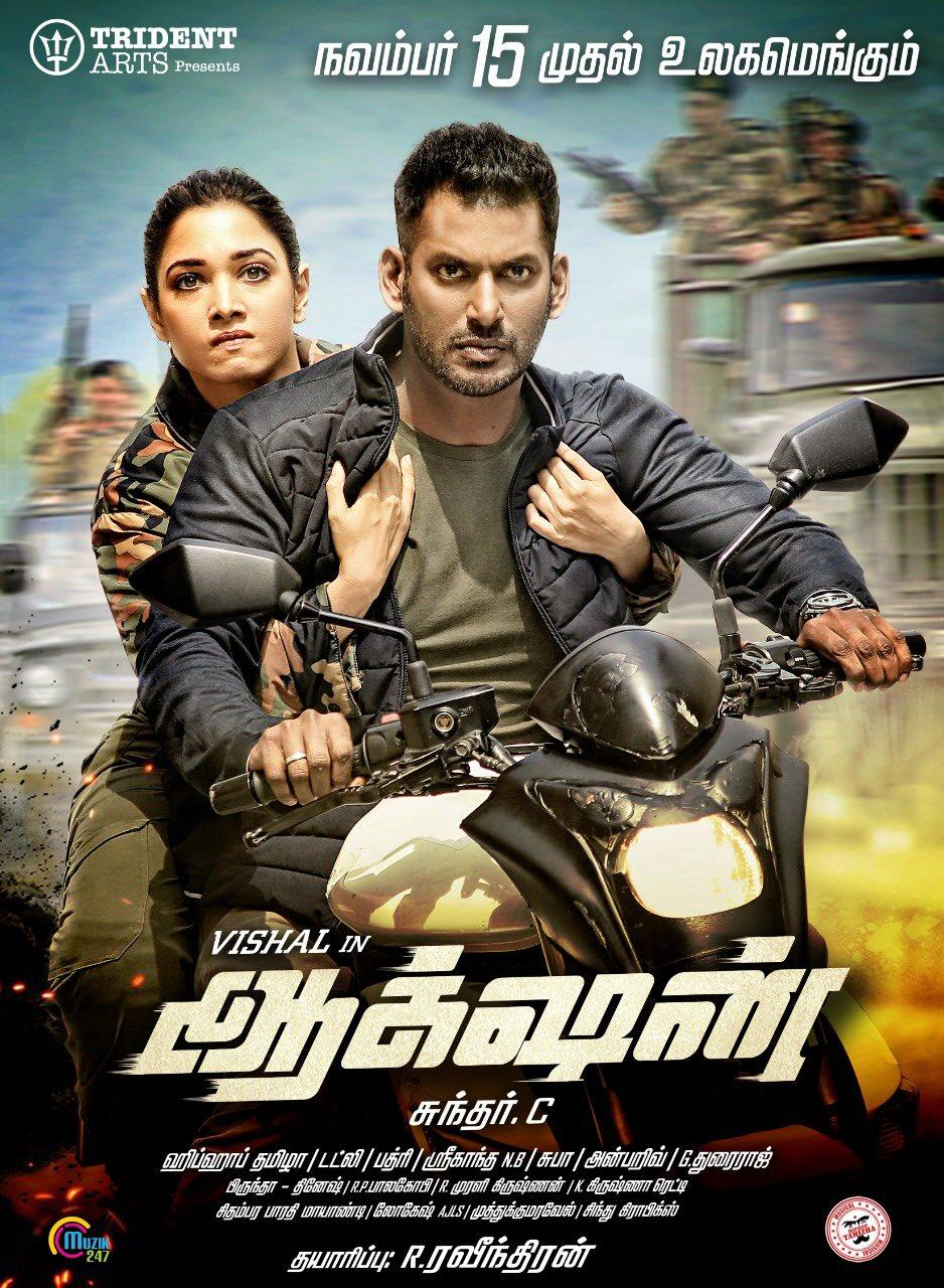 Action 2019 Tamil 720p HDRip 1.4GB ESubs