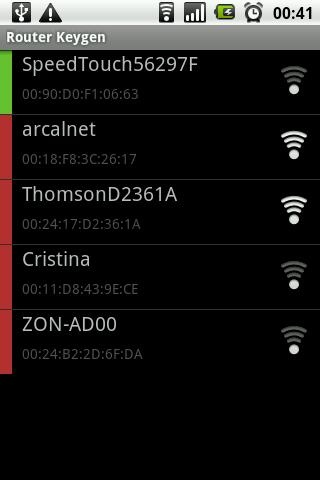 como se usa el router keygen android