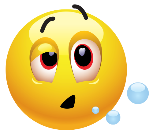 Groggy Emoticon | Symbols & Emoticons