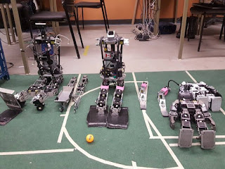 Robots from autonomous agents laboratory University of manitoba