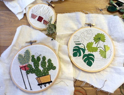 Sarah K. Benning embroidery bordado