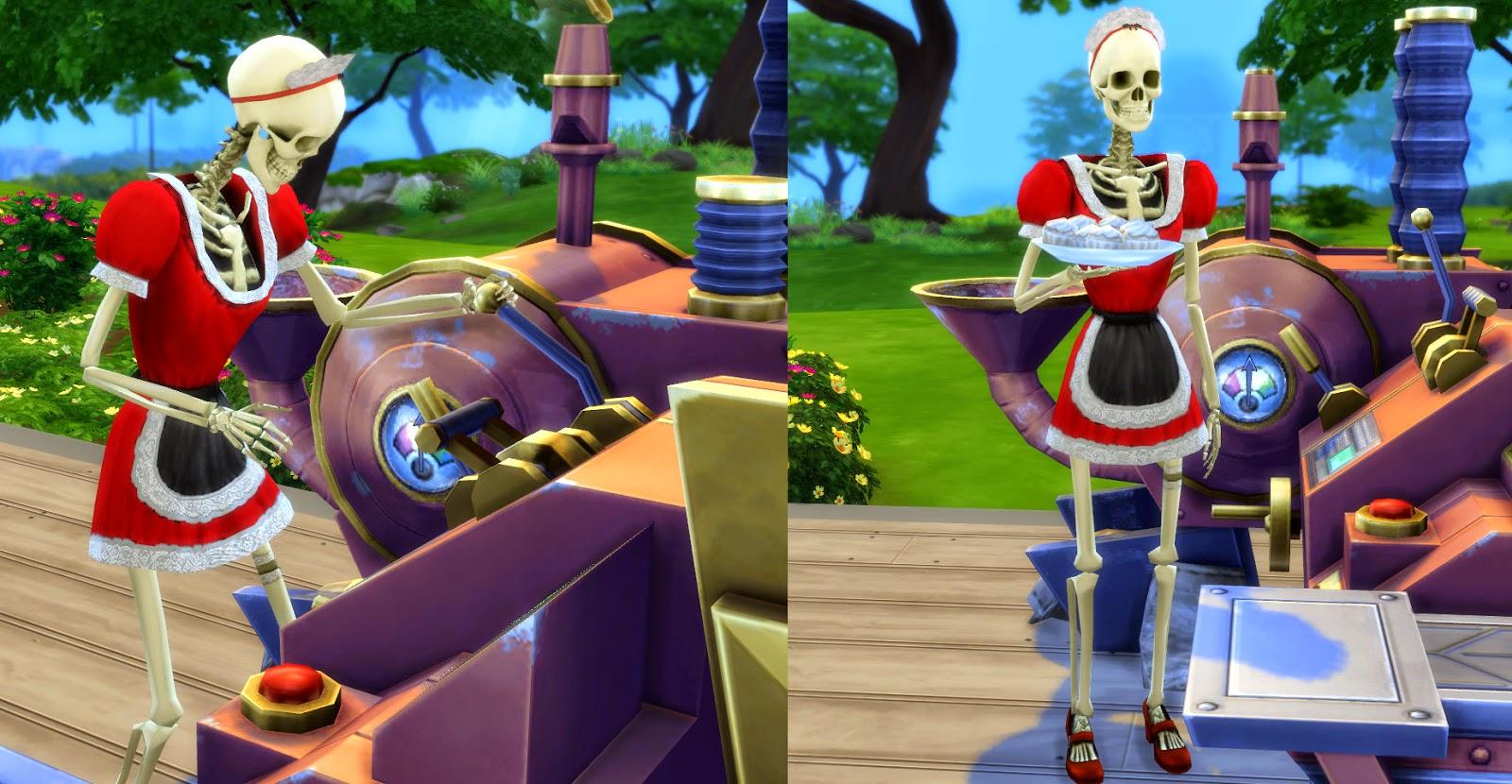 My Sims 4 Blog: Bonehilda from The Sims 3 by Esmeralda