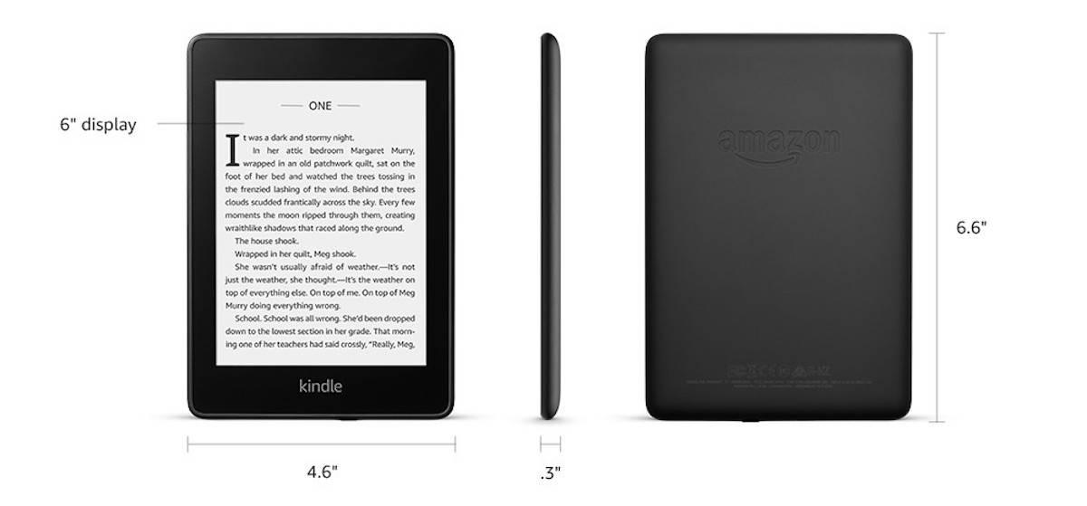 Kindle Paperwhite 4 z podświetleniem ekranu