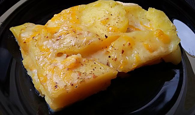 Patatas gratinadas light