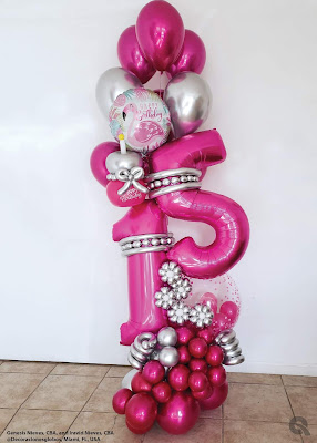 Design by Genesis Nieves and Iravid Nieves of Decoracionesglobos