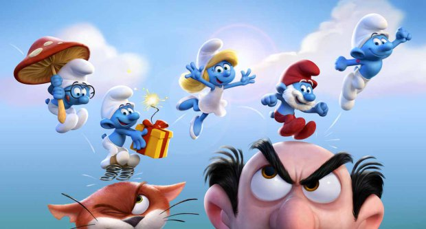 personagens smurfs vila perdida