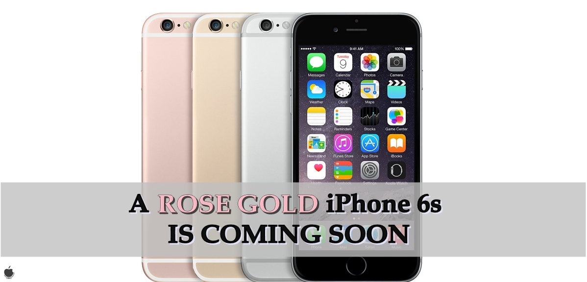when is the new iphone 6s coming out imimpressed a gold iphone 6s is coming soon 9075