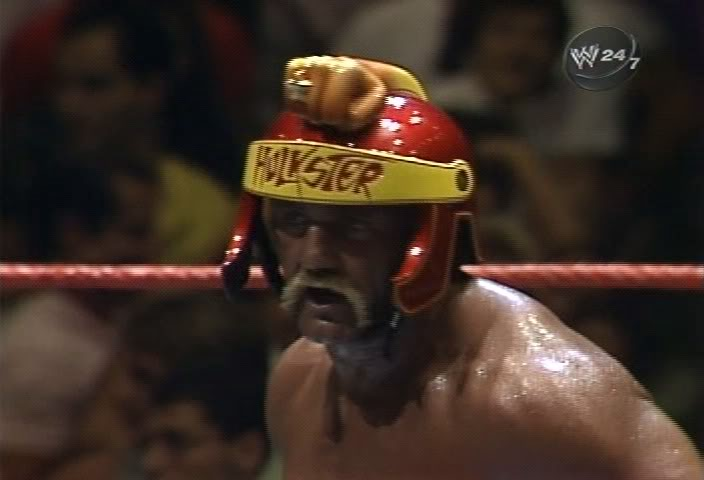 bunchojunk: Hulk Hogan's fist helmet