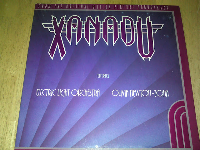Front cover of Xsnadu 1980 soundtrack album movieloversreviews.filminspector.com