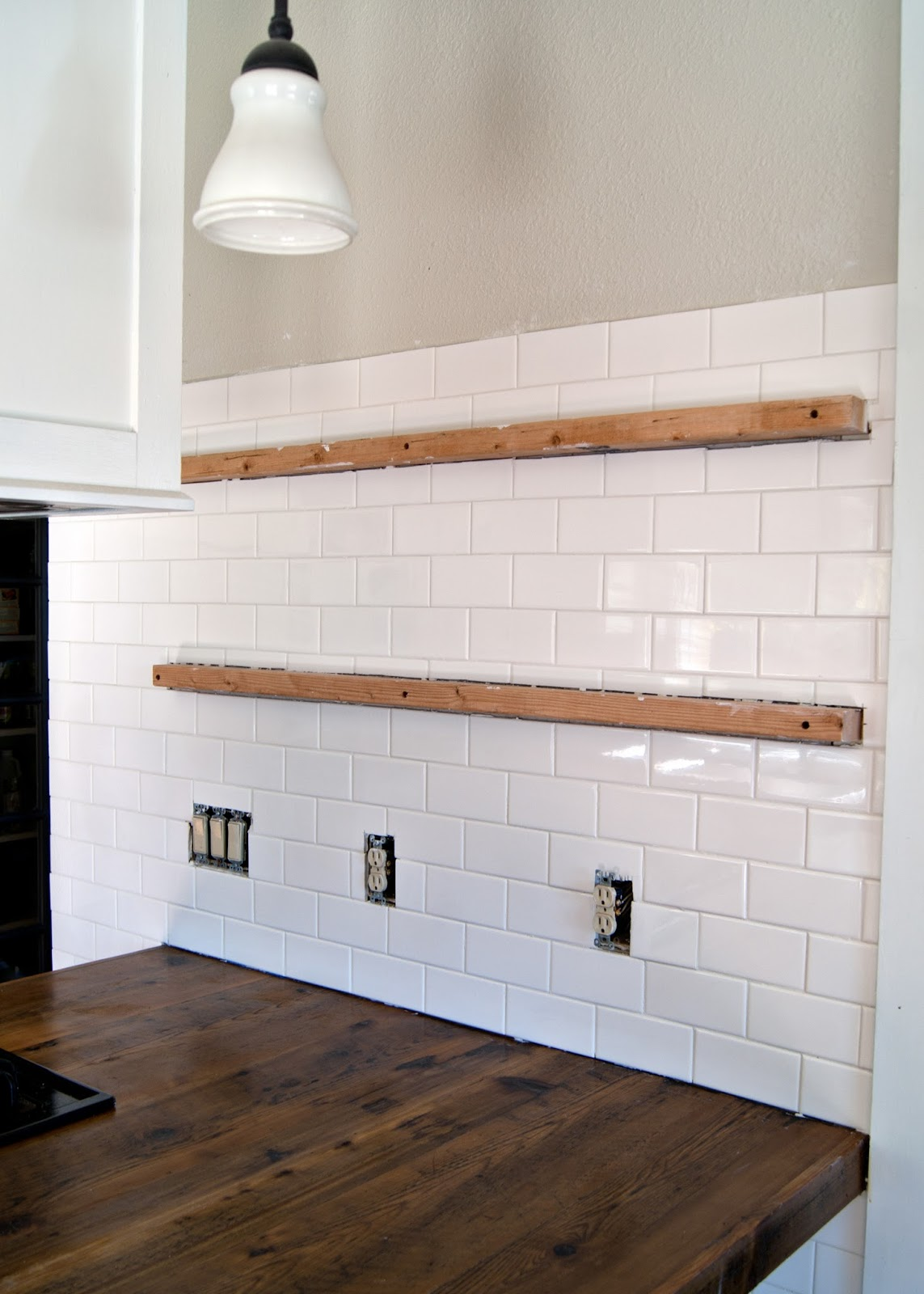 Subway tile installation + tips on grouting with Fusion ...