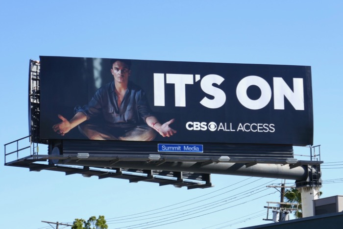 Strange Angel Its On CBS All Access billboard