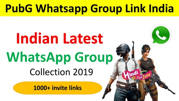 (NEW) PubG Whatsapp Group Link India | Top 1000+ PubG Invite Links